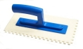 notched ABS plastic smoothing trowels